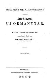 Codex diplom. arpadianus continuatus. Arpadkori uj okmanytar ... Tizedik kötet: 1A,18