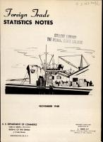 Foreign Trade Statistics Notes PDF