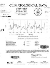 Climatological data: Montana, Volume 100