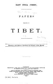 East India (Tibet)