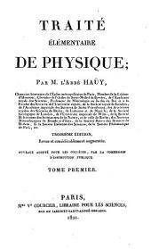Traité élémentaire de physique: Volume2
