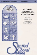 O Come  Emmanuel  Come Soon PDF
