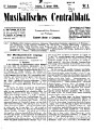 Musikalisches Centralblatt