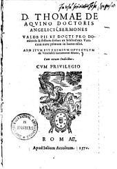 Sermones valde pii et docti pro dominicis et festivis diebus: additum est eximium opusculum de venerabili sacramento altaris