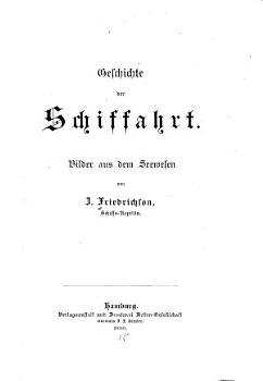 Geschichte der Schiffahrt PDF