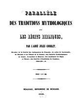 Parallèle des traditions mythologiques avec les récits bibliques