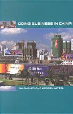 Doing Business in China PDF