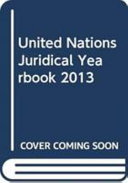 United Nations Juridical Yearbook 2013 PDF