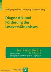 Diagnostik und Förderung des Leseverständnisses