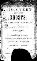Second Edition of a Discovery Concerning Ghosts PDF