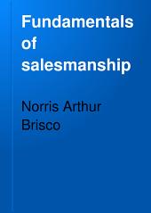 Fundamentals of Salesmanship