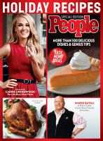 PEOPLE Holiday Recipes PDF
