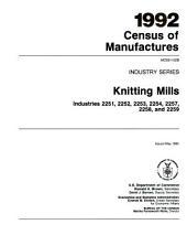 1992 census of manufactures