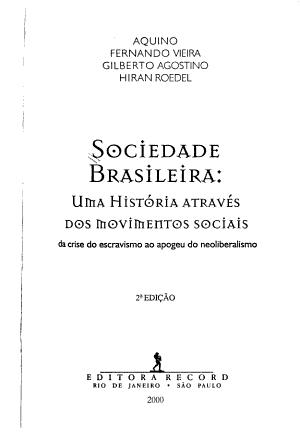 Sociedade brasileira PDF