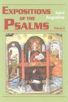 Expositions of the Psalms 99 120  vol  5  PDF