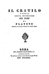 Il Cratilo, o della retta invenzione dei nomi