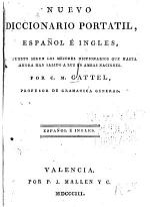 Nuevo diccionario portatil, espanol e ingles