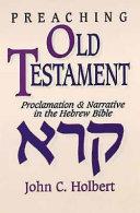 Preaching Old Testament PDF