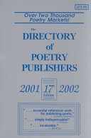 The Directory of Poetry Publishers 2001 2002 PDF