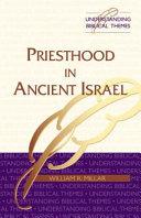 Priesthood in Ancient Israel PDF