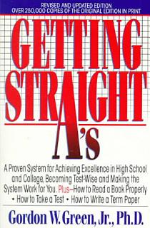 Getting Straight A s Book