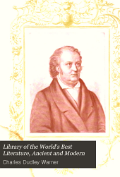 Library of the world's best literature, ancient and modern: Volume 31