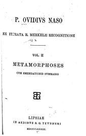 P. Ovidius Naso: Metamorphoses cum emendationis summario