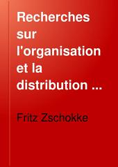 Recherches sur l'organisation et la distribution zoologique des vers parasites des poissons d'eau douce: Volume5