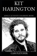 Kit Harington Adult Activity Coloring Book