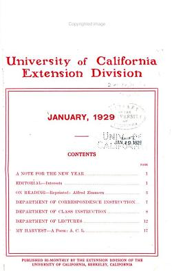 The Spokesman  University of California  Extension Division PDF