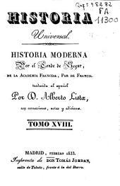Historia moderna: Volumen 18