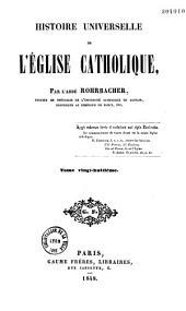 Histoire universelle de l'Église catholique: Volume1