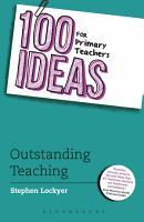 100 Ideas for Primary Teachers  Outstanding Teaching PDF