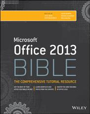 Office 2013 Bible PDF