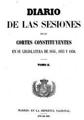 Diario de las sesiones de Cortes: Volumen 10