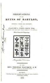 Observations on the Ruins of Babylon