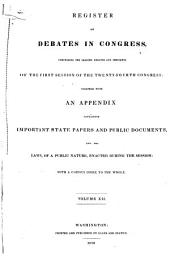Debates in Congress: Volume 12; Volume 66