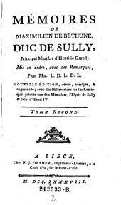 Memoires mis en ordre avec de remarques, par Mr. L. D. L. D. L. Nouvelle ed. (etc.): Volume 2