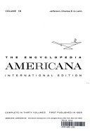 THE ENCYCLOPEDIA AMERICANA INTERNATIONAL EDITION