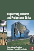 Engineering  Business and Professional Ethics PDF