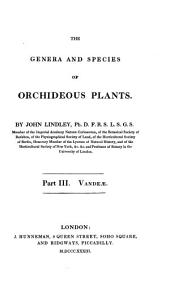 The genera and species of Orchideous Plants: Vandeae, Volume 3