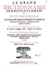 Le grand dictionnaire François-Flaman