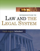 Introduction to Law and the Legal System PDF