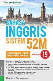 BAHASA INGGRIS SISTEM 52M Minggu ke-19
