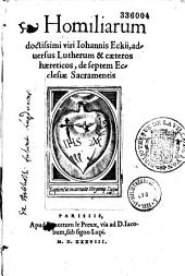 Homiliarum adversus Lutherum et ceteros haereticos, de septem Ecclesiae Sacramentis