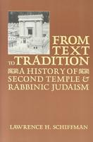From Text to Tradition PDF