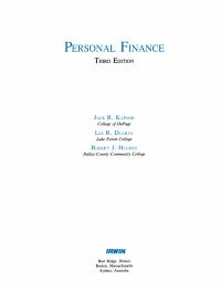 Personal Fin Srm Pkg PDF