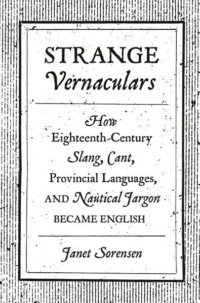 Download Strange Vernaculars Book
