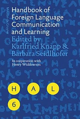 Handbook of Foreign Language Communication and Learning PDF