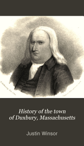 History of the Town of Duxbury, Massachusetts